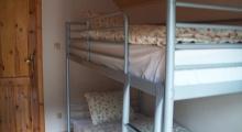 Sypialnia na piętrze - dom w Szczyrku