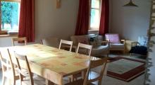 Jadalnia w domu w Szczyrku