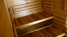 Sauna w domku Sno House w Szczyrku