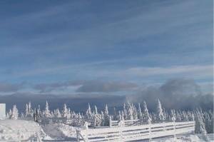 Skrzyczne zimą