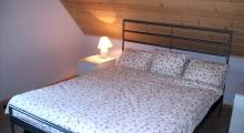 Główna sypialnia w domku