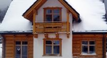 House in Szczyrk winter